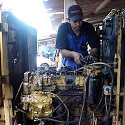 Serviços de manutenção em motores cc ca