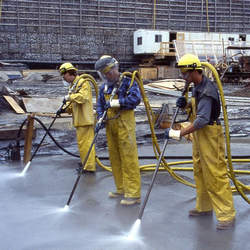Serviço limpeza industrial