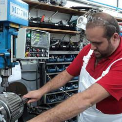 Manutenção de maquinas operatrizes