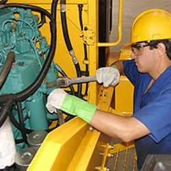 Serviços de manutenção em acopladores magnéticos