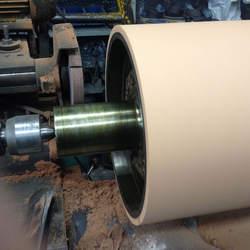 Revestimento de cilindros em borracha